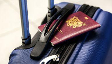 Valise et passseport